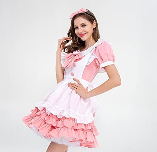 RSDZ Bar Mody Costume Princess Vestido Destacan el traje de Renunciar Traje de Halloween (Color : Skirt suit, Size : M)