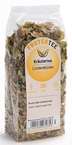 FRUTEG Lindenblüten-Tee lose 1000 g I natürlicher Tee aus den Blüten der Linde I geschätzt für seine wohltuende & wärmende Wirkung I Kräutertee koffeinfrei I Lindenblüten geschnitten 1 kg