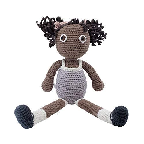 Sebra Häkel-Puppe, Poppy