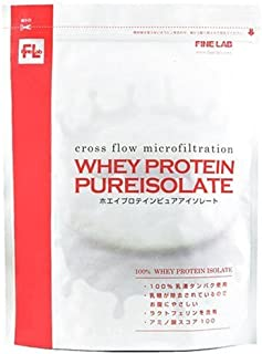 ファイン・ラボ ホエイプロテインピュアアイソレート プレーン風味 1kg