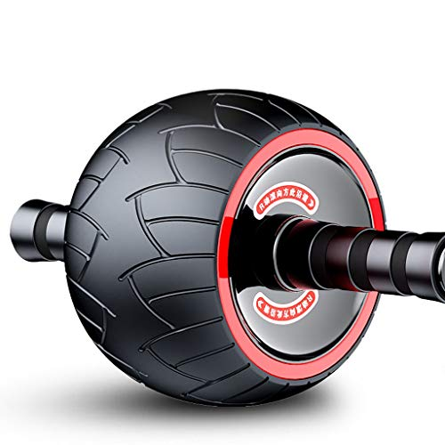 Ab Roller Rad Übungsgeräte for Core Training, Ab Rad-Rolle for Hauptgymnastik, Bauchmuskeltraining Ausrüstung for die Bauch-Übung Bauchtrainer for Gym, Keep Fit (Color : A)