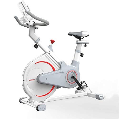 MGIZLJJ Ejercicio bicicleta estática bici de ciclo ajustable entrenamiento estacionario bicicletas de gimnasio en casa Bicicletas Cardio Upright Bike Inicio ejercicio corriente de motos deportivas Gim