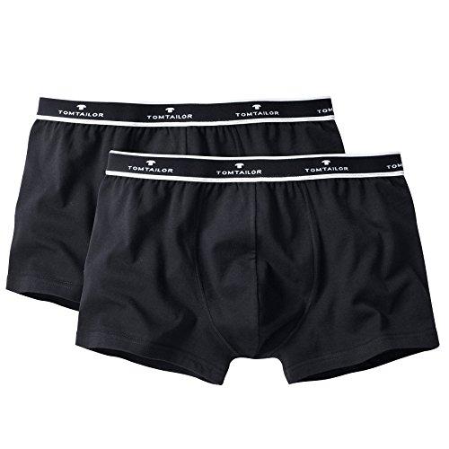 Tom Tailor Hommes 2-Pack Shorts Hip Pants Kentucky Logo Ceinture - Noir: : X-Large