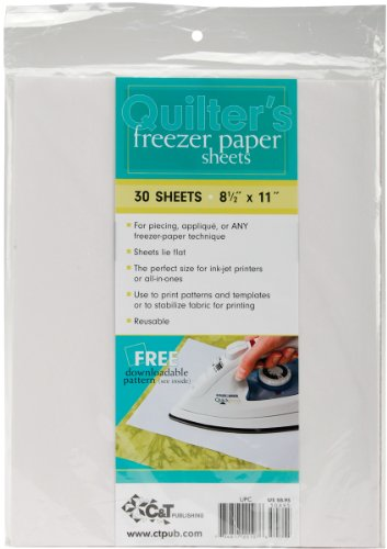 Quilter's Freezer Paper Sheets-8.5