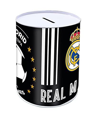 Hucha Metal 10x15cm de Real Madrid