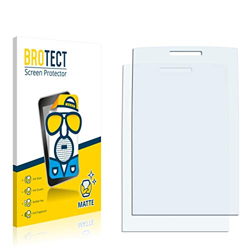 BROTECT Protector Pantalla Anti-Reflejos Compatible con Nokia X2-00 (2 Unidades) Pelicula Mate Anti-Huellas