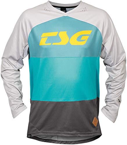TSG Skillz LS Maillot de cyclisme à manches longues Turquoise 2020, Turquoise fraîche., L