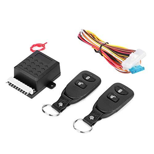 KIMISS Kit serratura a chiave antifurto telecomando per auto centralizzata universale