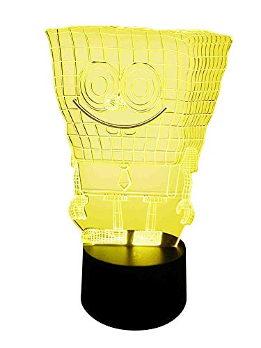 originelle 3d lampe LED Bob éponge
