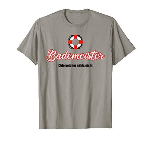 Rettungsschwimmer Bademeister Chlorreicher gehts nicht T-Shirt