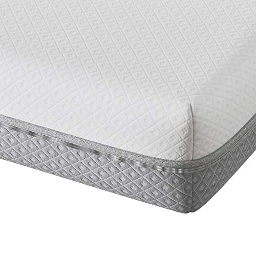 Vesgantti 25CM Memory Foam Mattress King Size, Gel Memory Foam Mattress Medium Firm with Three Foam Layers - 100-Night Trial, CertiPUR-US Certified