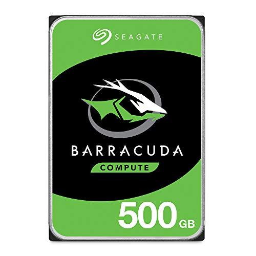 "Seagate 8.9cm (3.5\"") 500GB SATA3 Barracuda 7200 32MB intern Bulk"