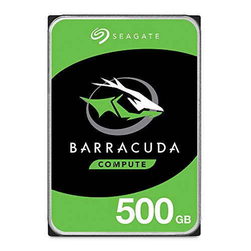 "Seagate 8.9cm (3.5"") 500GB SATA3 Barracuda 7200 32MB intern Bulk"