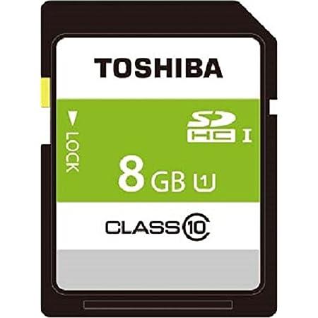 TOSHIBA SDHCカード 8GB Class10 UHS-I対応 (最大転送速度40MB/s) SDAR40N08G