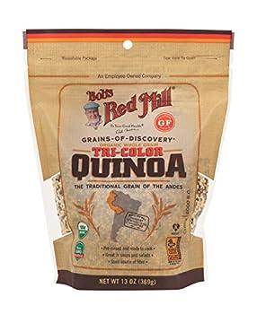 Bob s Red Mill Organic Tri-Color Quinoa Grain 13 Oz