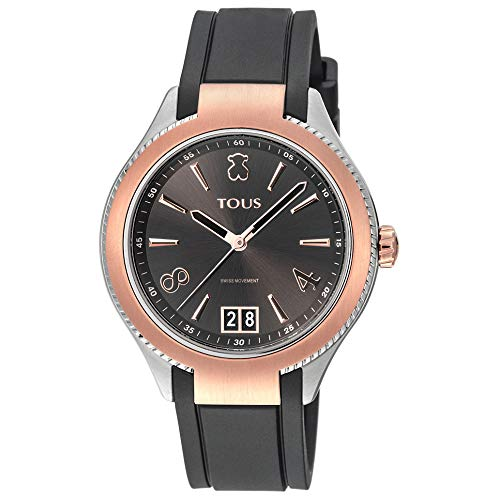 Tous Reloj ST 39 IPRG/SS ESF Negra Caucho Ref:900350300 (Cuarzo Suizo)