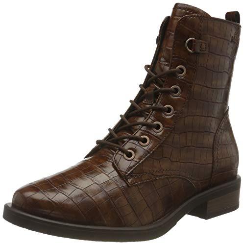 s.Oliver Damen 5-5-25122-25 Stiefelette, Brown Croco, 40 EU