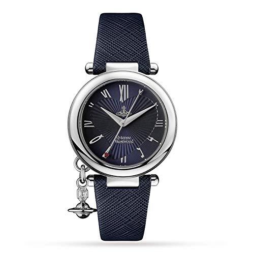 Vivienne Westwood Ladies Orb Heart Strap Watch VV006SLDBL