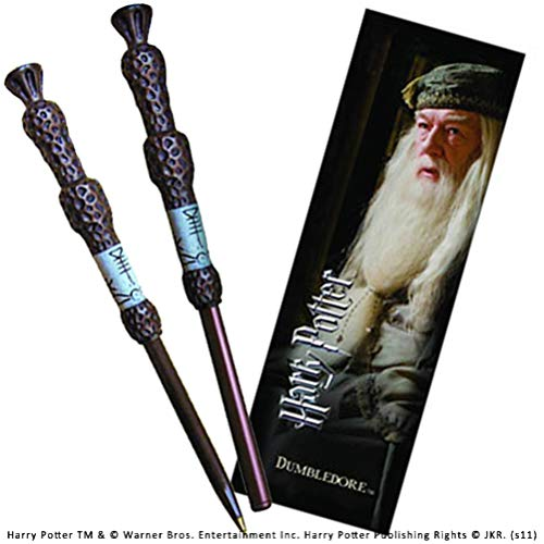 The Noble Collection Harry Potter: bolígrafo Dumbledore y Conjunto de marcadores.