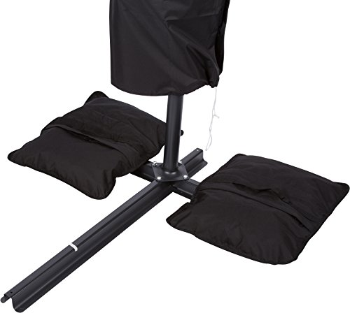 Trademark Innovations Saddlebag Style Sand Weight Bags for Anchoring Patio Umbrellas