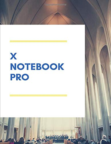 x notebook pro: Dot Grid - Size = 8.5' x 11'/ xxx pages/ double sided/dot paper notebook 8.5x11/x notebooks and journals/bullet journal supplies ... notebook letter/ notebook journal moleskine