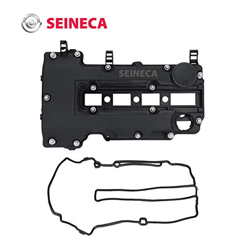 Camshaft Engine Valve Cover & Gasket Set Compatible with 2011-2019 Chevy Cruze Volt Trax Buick 1.4L Part No.55573746 25198874