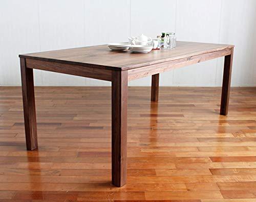 シエル180cmダイニングテーブル(ウォールナット)(単品販売)