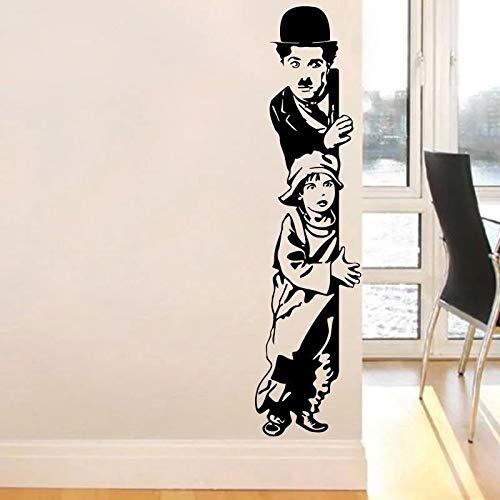 WERWN Vinilo Infantil Chaplin Movie Kids