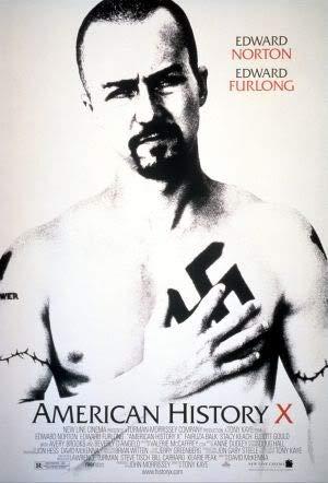 American History X - Edward Norton – Film Poster Plakat Drucken Bild – 43.2 x 60.7cm Größe Grösse Filmplakat
