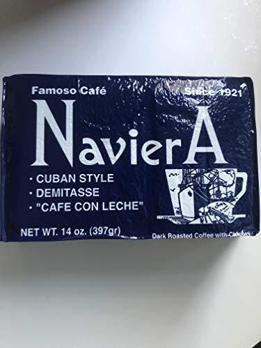Naviera Cuban Style Dark Roasted Coffee (1 Pack (14 Oz))