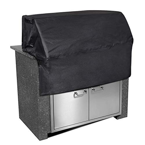 iCOVER 32 inch Built-in Grill Cover Heavy Duty Waterproof Barbeque Grill Cover with Air Vent-32''(W) × 26''(D) × 24''(H)