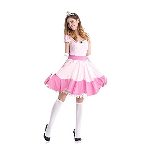 LOLANTA Rosa Prinzessin Kostüm für Damen