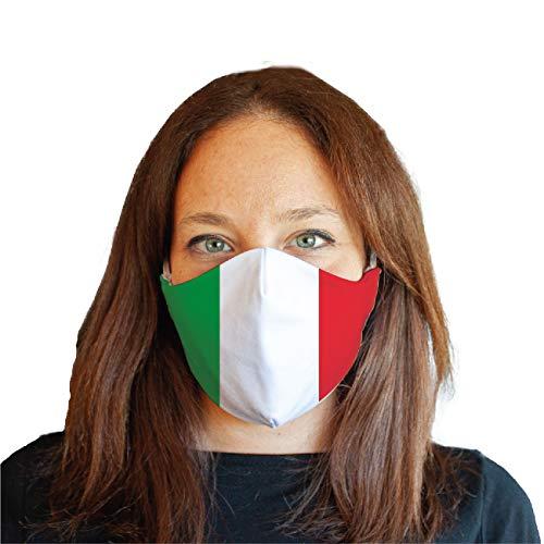 My Custom Style Maske #Flagge - Italien# Wiederverwendbare