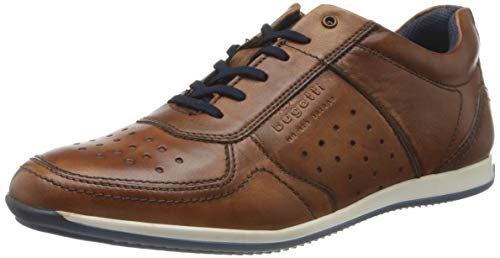 bugatti Herren 311450073500 Niedrig Sneaker, Braun, 45 EU