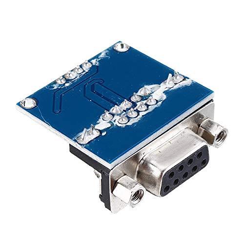 Módulo electrónico DC5V MAX3232 MAX232 RS232 a TTL de serie del módulo...