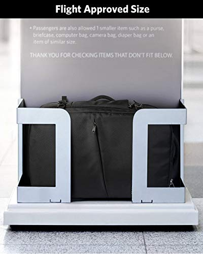 Inateck 40L Supergroßer Handgepäck Reiserucksack Laptop Rucksack für 15,6-17 Zoll Notebooks, Flug Genehmigt Rucksack Kabinenrucksack für Weekender