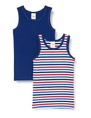 s.Oliver Jungen Doppelpack Unterhemd, Blau (Royal Blue 5809), 92 (Herstellergröße: 092) (2er Pack)