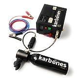 Karbones Mini Botella de Buceo con compresor de 12V / 220V 5-10 Minutos de Tiempo de Buceo Kit de oxígeno - Scorkl smaco Enhanced Portable Cylinder System (12 V)