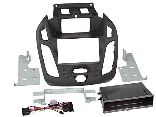 ACV Adaptateur de façade 2-DIN pour Inbay pour Ford Transit Connect 2013 > Noir