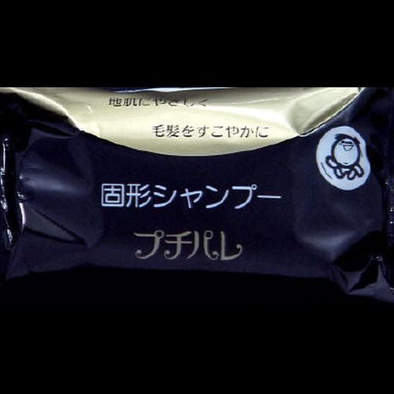 確認用量認める【まとめ買い】固形シャンプー プチパレ ×2セット