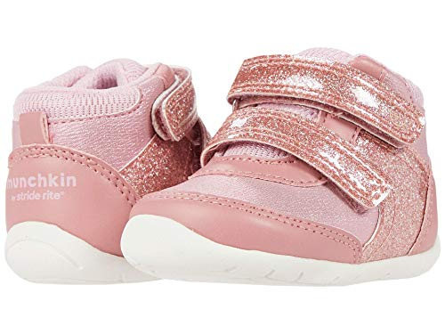 Munchkin by Stride Rite Baby Girl's Bennett (Infant/Toddler) Pink 3 Infant M