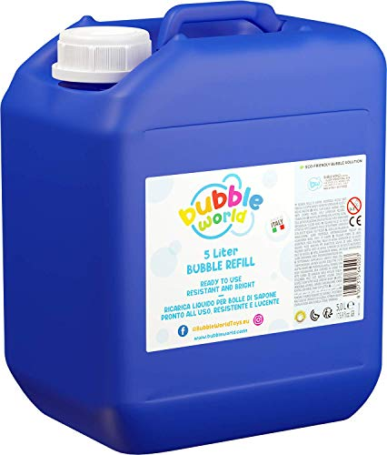 Dulcop 103.645000 - Nachfuellflasche für Riesenseifenblasen, Kanister Flüssigkeit