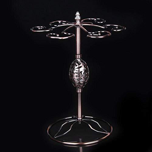 SKYyao Estante de vidrio de vino,Huevo de Oca colgante Copa copa de estante colgando al revés cuelgan ornamentos caseros 345 * 240 * 185 m m
