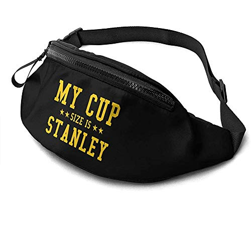 NA Ma Taille De Tasse Est Stanley Runner's Fanny Bag Waist Pack Réglable Sangles Poche avec Prise Casque pour Unisexe
