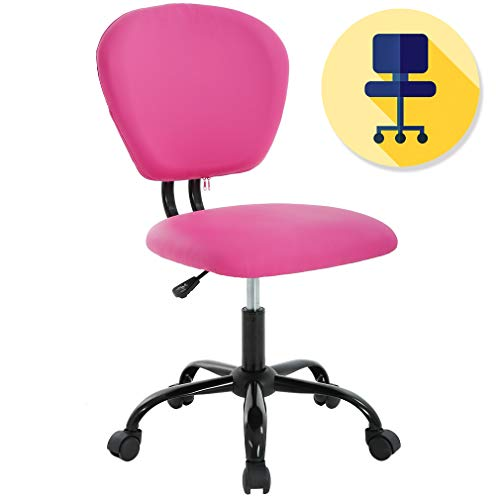 BestOffice PU Leather Mid-Back Office Desk Task Chair