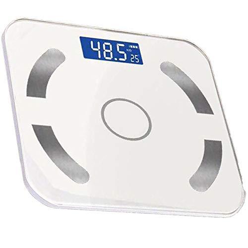 R&Xrenxia Smart Body Fat Mi Scale Bluetooth Scales Body Fat Scale Floor Scientific Smart Electronic Backlit Led Digital Body Weight Bathroom