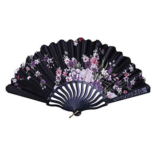 Abanicos de Mano de Mujer,Mejor Estilo Chino Fans de la Fiesta de...