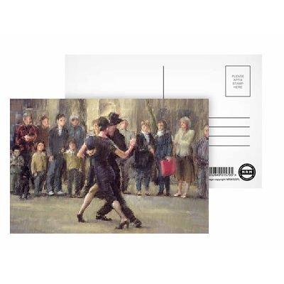 art247–Set von 8Postkarten, Standardgröße (15,2x 10,2cm), Motiv: Street Tango (Pastel on Paper) by Pat