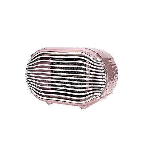 WSJTT Calefactor Calentador de Oficina en casa Mini Calentador eléctrico Vertical Calentador rápido de Escritorio Peque?o (Azul, Verde, Rosa) (Color:Rosa) (Color : Pink)
