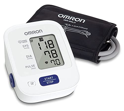OMRON Bronze Blood Pressure Monitor, Upper Arm Cuff, Digital...